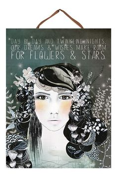 Night Shade Art Panel Print