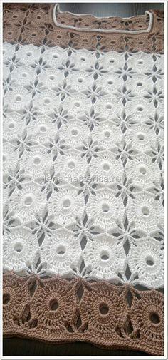 Blusa Crochet dos motivos