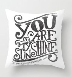 even though this is on a pillow, I like the design