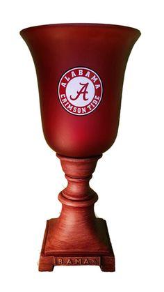 NCAA TORSHIERE UPLIGHT LAMP ALABAMA