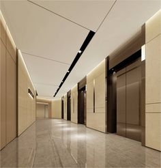 This Is Our Daily Lobby Design Ideas - Ceiling Decorations Corridor Design, Hall Design, Corporate Interiors, Hotel Interiors, Hall Hotel, Hotel Door, Lobby Interior, Interior Design, Elevator Design