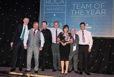 The Grove Academy FM Team proudly receives their Team of the Year award!