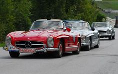 Mercedes-Benz 300 SL Roadster at Mercedes-Benz Classic Days
