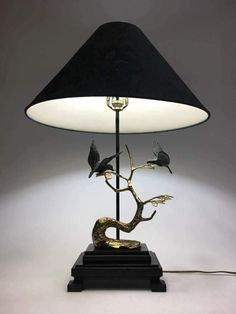 "Frederick Cooper ""Birds"" Table lamp"