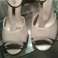 Heels Taupe strappy Life Stride Shoes Heels
