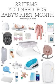 Here is a list of must have items for a newborn baby! Everything you need to survive those first months with a baby. A must read for every pregnant mom to be. Great ideas for baby shower gifts, too! Baby Registry Must Haves, Baby Registry Items, Baby Must Haves, New Born Must Haves, Baby Registry List, Carters Baby, Baby Boys, Toddler Girls, Newborn Baby Needs