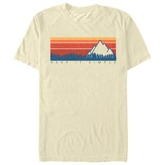 Head out into the wilderness because it is time to commune with nature in the Lost Gods Keep It Simple Retro Men's T-Shirt! Earth Day is the perfect day to show off your love for the environment and awesome fashions with nature-inspired Earth Day shirts. Design T Shirt, Shirt Designs, Simple Shirt Design, Simple Designs, T Shirt And Shorts, Tee Shirts, Logos Retro, T Shirt World, Retro Shirts