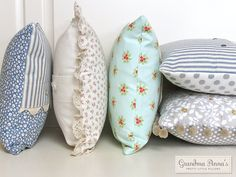 Grandma Anna's Pretty Little Pillows (via Bloglovin.com )