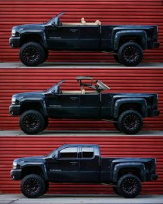 Chevy Silverado with hardtop convertible roof Custom Chevy Trucks, Gm Trucks, Diesel Trucks, Lifted Trucks, Cool Trucks, Pickup Trucks, Chevy Silverado Accessories, Truck Accessories, Accessoires 4x4