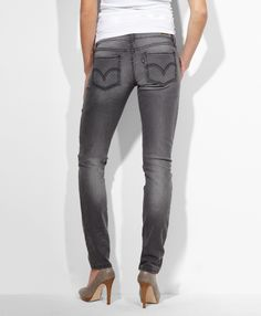 Levi's 524™ Skinny Jeans in Chalked Grey #dressintheunexpected
