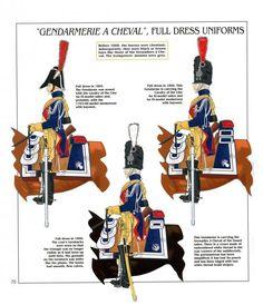 Gendarmeria di élite a cavallo della guardia imperiale, 1804-1815