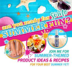 Essential Oils for Summertime (Includes Recipes!)  Come check out lots of great ideas on how to use your Young Living essential oils this summer!