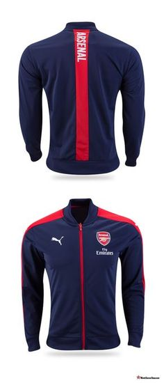 203549b7e1c Arsenal 2016 17 Home Stadium Jacket from Puma. Christmas gift and stocking  stuffer ideas