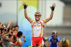 Samuel Sánchez - Cycling - Road - Beijing Olympics 2008 - Mens Road Race