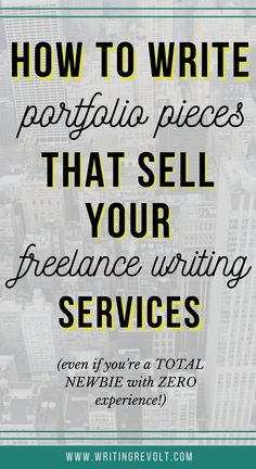 Read now, and learn how to create a client-winning freelance writing portfolio + samples, even if you have NO experience and feel totally clueless! Writing Resources, Blog Writing, Writing Services, Writing Tips, Writing Prompts, Human Resources, Writing Fonts, Writing Notebook, Portfolio Samples