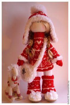 Человечки ручной работы. Ярмарка Мастеров - ручная работа Kristy. Интерьерная текстильная кукла.. Handmade.