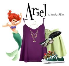 """""""•Under the sea Ariel•"""" by beautywithbo ❤ liked on Polyvore"""