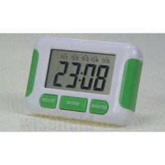 Ce Réveil LED-5 Alarm-Sonore Puissante est simple à programmer avec ses 3 boutons.  Aimanté-à Poser-Accrocher  Frais de port offert
