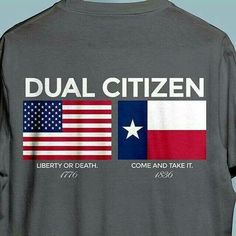 Dual Citizenship in the United States of America and TEXAS! Texas Humor, Only In Texas, Republic Of Texas, Texas Forever, Come And Take It, Loving Texas, Texas Pride, Lone Star State, Texas History