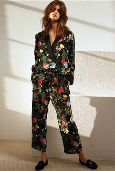 The flower power suit is in. Tibi Pre Fall 2016.