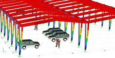 Visuele referentie-objecten toevoegen aan RFEM modellen, voor een optimale, relatieve weergave van het rekenmodel.