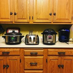 Ive got the team hard at work on todays meals. Toast and coffee for breakfast; hard boiled eggs in the InstantPot for lunch; and beef stew simmering in the crockpot for dinner. . How do you do all you do AND still get food on the table? . #whatsfordinner #instantpot #modernwoman