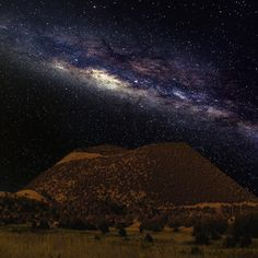 Capulin Volcano works hard to maintain the Dark Sky Park title. Rangers are actively working with astronomers to create interpretive programs for the future so that the public can get the most out of the beautiful night skies here. -Ranger Diana #capulin #nightsky #astronomy #stars #nationalmonument #darksky #NPS #milkyway