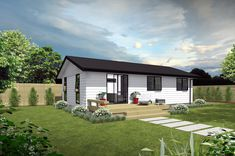Prefabricated Transportable 3 Bedroom Home