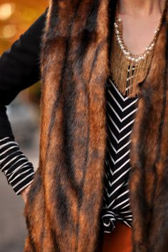 faux and stripes