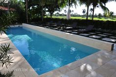 our 16x16 ivory travertine pavers. done so right.  get the look: http://www.travertinemart.com/products-page/16x16/premium-select-16x16-ivory-tumbled-travertine-pavers