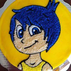 Inside out Joy cake