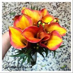 La cala mango, una bella flor para los ramos de novia