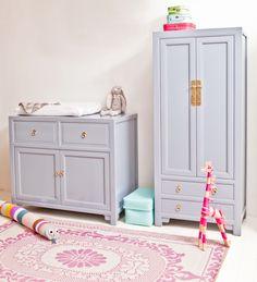 MY WOODZ Kids room in Bone China Blue