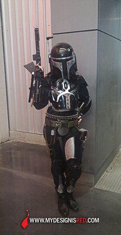 Mandalorian Costume, Mandalorian Armor, Star Wars Girls, Star Wars Baby, Star Wars Fett, Female Sith, Fantasy Online, Star Wars Bounty Hunter, Lucas Arts