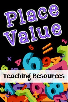 Place Value Teaching Resources and Freebies in Laura Candler's File Cabinet