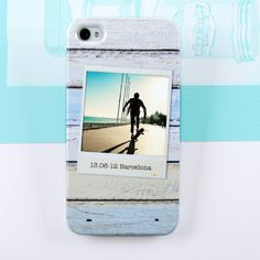 Personalised Wood Photo Case For IPhone