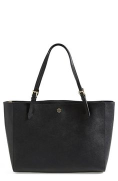 Tory Burch 'York' Buckle Tote | Nordstrom **Has an unexpectedly decent number of pockets!