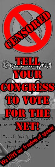 Oh no!  Tell your CONGRESS to VOTE for the NET!