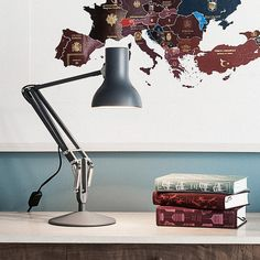 Browse our latest collection of desk lamps, wall lights, ceiling lights and floor lights. Whether you're looking for lights for domestic or commercial environments, there's a lighting solution for you. Furniture Sale, Furniture Design, Desk Lamp, Table Lamp, Mini Desk, Modern Lighting Design, Large Lamps, Anglepoise, Desk Light