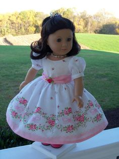 American Girl Special Occasion Gown / Clothes for by Farmcookies