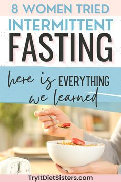 8 women tried Intermittent fasting and lost 12 pounds! These intermittent fasting before and after body transformations tips are perfect for losing weight for women. Considering intermittent fasting 16/8? Here's what you need to know before you try these intermittent fasting meals. Have you ever used intermittent fasting before and after for 30 days? If not, this post will show you before and after 1 week results. See more at tryitdietsisters.com Diet Plans To Lose Weight Fast, Lose Weight At Home, Losing Weight, How To Lose Weight Fast, Intermittent Fasting Before And After, Weight Plateau, How Did It Go, Body Transformations, Weights For Women