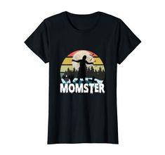 Womens Funny Parents Mom Halloween Costume Momster Zombie T-Shirt Amazon Merch, Zombie T Shirt, Parenting Humor, Branded T Shirts, Fashion Brands, Halloween Costumes, Mom, Funny, Mens Tops