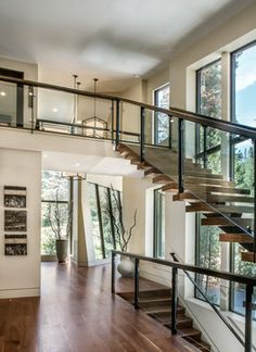 Freeman Residence contemporary-staircase