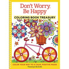 Inside this book, you'll find 96 enjoyable art activities on cheerful subjects like dragonflies, mandalas, flowers, playful animals and more. Spend joyful hours decorating them with markers, colored p