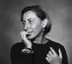 Miuccia Prada - Ph.D. in Political Science, Former Mime, Feminist & Human Rights Activist, Fashion Powerhouse.