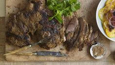 This lamb can be your savior on those evenings when you've got a bunch of strangers around the table.