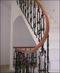 Bespoke Staircase & Handrail by NBJ Midlands Ltd Staircase Handrail, Stairs, Bespoke Staircases, Joinery, London, Mirror, Design, Home Decor, Carving