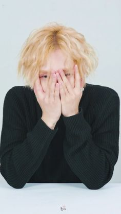 Kim Hyo Jong // This guy is really cute! So awesome hairstyle! So beautiful pale skin and tender hands! His sexy sight and sweet lips.... Gorgeous ear piercings and rings! Sweet sweater and he is just so hmmm! Yea!