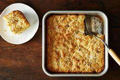 Vera Obias' Cheddar & Black Pepper Cornbread recipe: Biscuit, meets cornbread. #food52