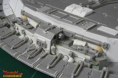 https://flic.kr/p/eAwXzw   Star Wars - Halcón Milenario (75)   A pesar de que hay bastantes piezas procedentes del kit, todas o la gran mayoría de ellas, han necesitado de numerosas modificaciones.